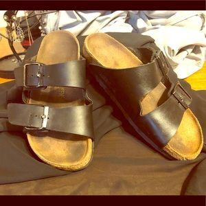 Lightly used Birkenstock sandals